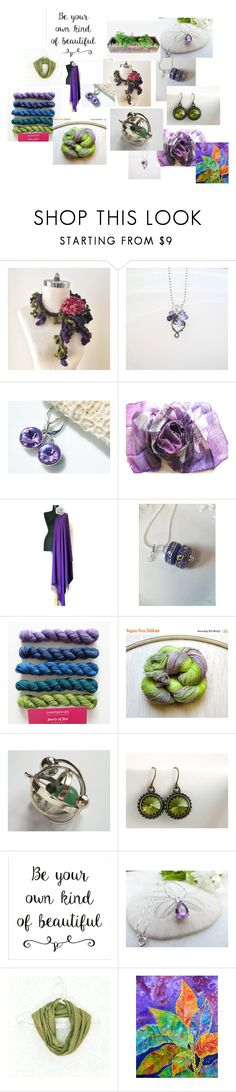 """Beautiful"" by valeriebaberdesigns ❤ liked on Polyvore featuring Olivine and Croton"