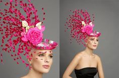 Beautiful hat for the Oaks or Derby
