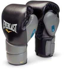 Everlast Men's Boxing Sparring Glove – Black/Grey, 16oz