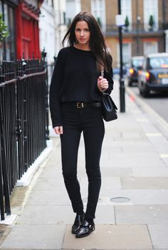 Inspiration Look - black outfit
