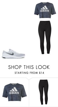 """Sem título #135"" by monroden on Polyvore featuring adidas, Venus, NIKE e plus size clothing"