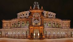 Semperoper The Semperoper is the opera house of the Sächsische Staatsoper Dresden (Saxon State Opera) and the concert hall of the Staatskapelle Dresden (Saxon State Orchestra). It ... #Attraction #Landmark  #Backpackers #Hostelman #Travel #Landmark