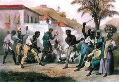 Danse de la guerre. Capoeira. 1834. Pintura de Johann Moritz Rugendas. História: a arte de Rugendas no Brasil » Blog da prefeita Teresa Surita