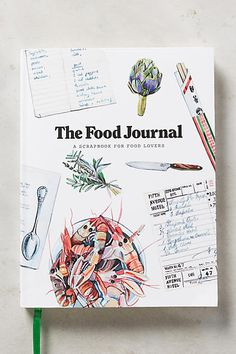 Anthropologie The Food Journal