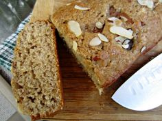 Renee's Kitchen Adventures: Fresh Fig and Almond Quick Bread