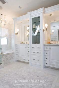 classic bathroom by janelle steinberg/j. steinberg design