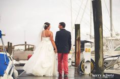 #MadeleinesDaughterMoment, real bride, real wedding, bridal gown, wedding gown, nautical wedding, sailing, rainbow, Wtoo, Mimi, strapless, sweetheart, ballgown, taffeta, ivory, veil, burgee, Nantucket reds, navy bridesmaids, groomsmen, bridal bouquet, antique car, Toni Federici veil