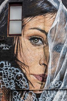 Street Art by Adnate (Melbourne, Australia)