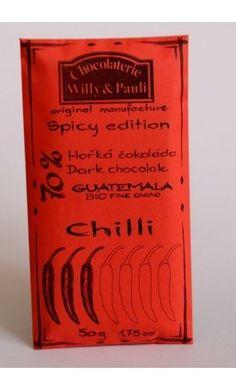BIO Hořká čokoláda Guatemala s chilli