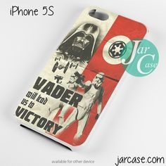 Star Wars Vader Lead us to victory Phone case for iPhone 4/4s/5/5c/5s/6/6 plus