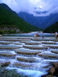 Blue Moon Valley, China.