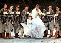Uggs for weddings? Ugh! Even if they looked nice, can you imagine how gross your feet would feel?
