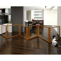 Pet Gate With Door, Cat Gate, Tall Pet Gate, Freestanding Dog Gate, Dog Barrier, Indoor Pets, Dog Rooms, Dog Fence, Oak Color