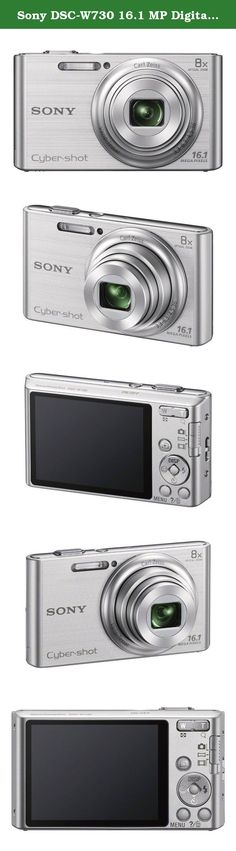 Sony DSC-W730 16.1 MP Digital Camera with 2.7-Inch LCD (Silver) (OLD MODEL). It's the amazingly easy-to-use camera that slips right in your pocket-with an 8x optical zoom, 16.1MP photos and beautifully-detailed HD videos. And pics stay clearer, even with shaky hands thanks to Optical SteadyShot image stabilization. You can also enhance your images with built-in effects that adjust skin tone and texture or even whiten teeth.