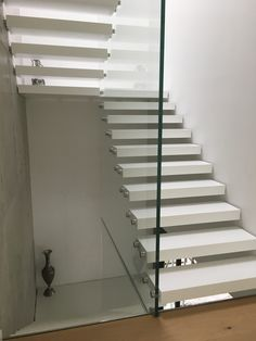 Modern staircase designs with Corian