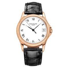 77131fea68e Pre-Owned Patek Philippe Calatrava Automatic Rose Gold. Betteridge · Men s  Watches