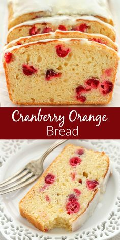 Chocolate Whipped Cream Layer Cake is a Delicious and Cooling Summer Dessert This Cranberry Orange Bread Is Easy To Make, Super Moist, And Topped With A Delicious Orange Glaze. Ideal For Breakfast Or Dessert Fun Desserts, Delicious Desserts, Dessert Recipes, Yummy Food, Breakfast Recipes, Homemade Desserts, Recipes Dinner, Cranberry Orange Bread, Cranberry Recipes
