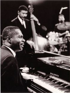 Wynton Kelly (December 2, 1931 in Jamaica — April 12, 1971, in Toronto, Ontario, Canada) was a jazz pianist who spent his career in the United States.[1] He is perhaps best known for working with trumpeter Miles Davis in the '50s.[1]Kelly started his professional career as a teenager, initially as a member of R groups. After working with Lee Abrams, Cecil Payne, Dinah Washington and Dizzy Gillespie[2], he was a member of Miles Davis's Quintet from 1959 to 1963.