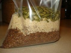 Salad seed topping recipe