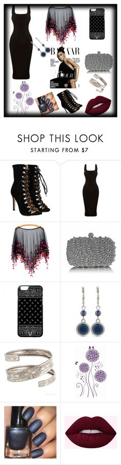 """""""Night time out"""" by mystylemydestiny ❤ liked on Polyvore featuring Nine West and Victoria Beckham"""