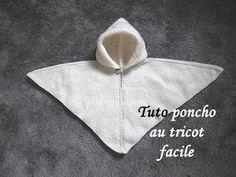 Les tutos de Fadinou. tuto poncho tricot facile, débutant, français, gratuit, tricot, tricoton, tricot, facile