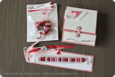 Stampin 'Up!  valentine gifts Valentine's Day packaging