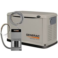 Generac Guardian™ 14kW Standby Generator System (100A 14-Circuit Automatic Switch), Model 6240