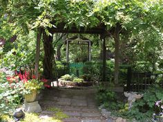 Lots of garden inspiration- and roses!
