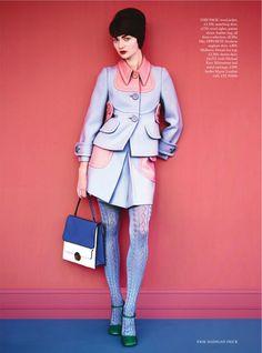 Antonina Vasylchenko di Erik Madigan Heck per Bazaar Uk Harper