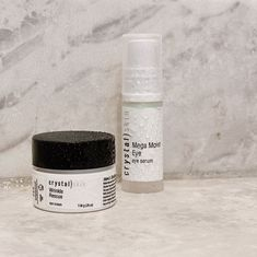 Two of my all-time favorites! Mega Moist Eye and my Wrinkle Rescue! Check out our story on the difference between these . Best Moisturizer, Eye Serum, Eyes, Crystals, Face, Check, Crystal, The Face