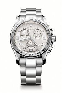 Unisex Hodinky Chrono Classic 241499 Swiss-made quartzový strojček ETA G10.211, Presnosť merania chronografu až 1/10 sekundy, tachymeter, priemer: ø 41 mm