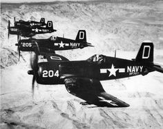 F4U-4 Corsiars of VF-783 on the prowl