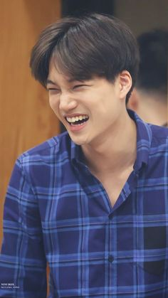 Aww baby Kai's sweet smile Baekhyun Chanyeol, Exo Kai, Luhan And Kris, Kokobop Exo, Taemin, Shinee, Kaisoo, Kris Wu, K Pop