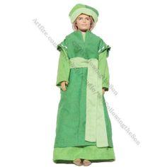 Wiseman Magi Shades of Green Robe Tunic Ken Barbie Fashion Doll Outfit | WRFollowingtheSon