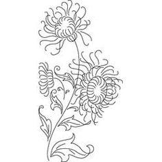 Pattern Detail   Chrysanthemums   Needlecrafter