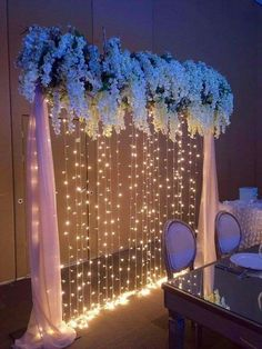 The wedding is the most romantic and warmest event. The wedding scene should also be decorated with beautiful decorations. Wedding decorations with flowers are the best choice for most brides and grooms. How to decorate Read more… Wedding Scene, Diy Wedding, Wedding Reception, Dream Wedding, Wedding Day, Garden Wedding, Wedding Venues, Trendy Wedding, Wedding Stage Backdrop