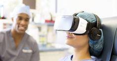De acordo com uma nova pesquisa feita pelo hospital americano Cedar-Sinai (publicada no periódico JMIR Mental Health), a Realidade Virtual pode ser usada para ajudar a diminuir dores de pacientes internados.