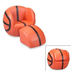 Basketball Chair & Ottoman Set - BedBathandBeyond.com