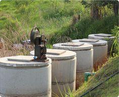 Tanques de água de chuva