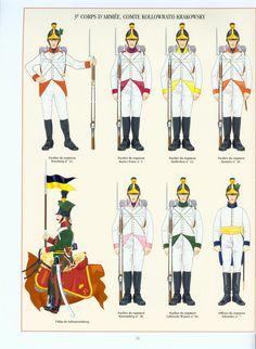 Fucilieri e ulano del 3 corpo di armata austriaco