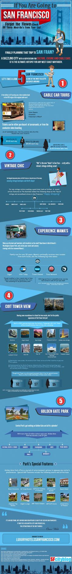 If You Are Going To San Francisco #SanFrancisco #Travel | #infographics repinned by @Piktochart