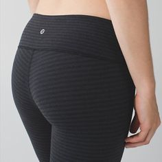 Lululemon Wunder Under Crop III Lululemon wunder under crop III in luon pique black dark slate. Size 6. NWT. Sold out. NO TRADES I only sell though Poshmark. lululemon athletica Pants Ankle & Cropped