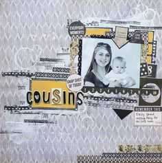 The Art of Life collection from Kaisercrafts Scrapbooking Layouts, Scrapbook Pages, Page Layout, Sketches, In This Moment, Frame, Projects, Blog, Life