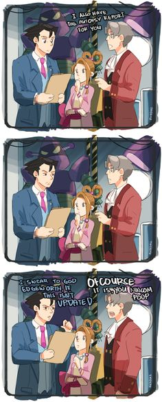 Fool me once, shame on you. Fool me twice, shame on me. | Phoenix Wright: Ace Attorney | Know Your Meme