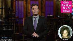 Jimmy Fallon Tears Up During 'SNL' Prince Special: He Was 'Just Amazing' —Watch