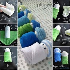 Diaper Baby Craft