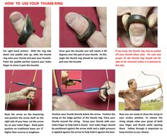 GREATREEARCHERY.COM :: NEWS :: How to use your thumb ring