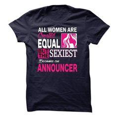 ANNOUNCER T Shirts, Hoodies Sweatshirts. Check price ==► https://www.sunfrog.com/LifeStyle/-ANNOUNCER.html?57074