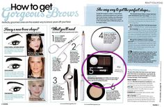 NYX Eyebrow Cake Powder appears in Essentials Magazine. The perfect little compact to touch up your brows on the go! Get yours here: http://www.nyxcosmeticsstore.co.uk/acatalog/ECP_-_Eyebrow_Cake_Powder.html