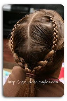 Girly Do's By Jenn: Facebook & Making Use of The Four Strand Braid
